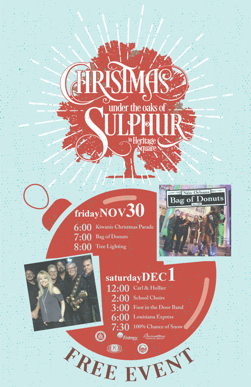 Christmas Under The Oaks.Events Calendar Christmas Under The Oaks Sulphur La